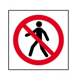 No Thoroughfare Symbol Signs