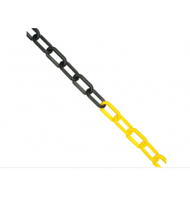 6mm Chain 25M Yellow/Black