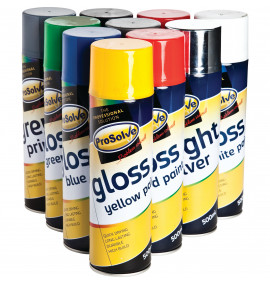 Prosolve All Purpose Acrylic Gloss Paint 500ml Aerosol
