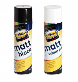 PROSOLVE™ ALL PURPOSE MATT PAINT 500ML AEROSOL